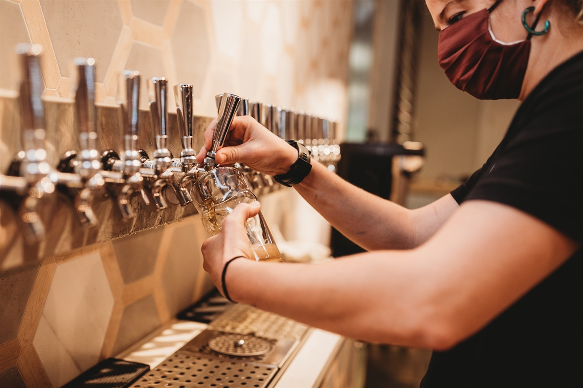 Enjoy Brews from one of our Local Breweries