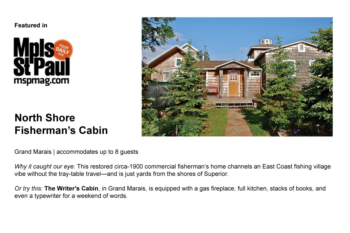 A great write up in Minneapolis St. Paul Magazine. One of a small handful of selected properties in Minnesota.