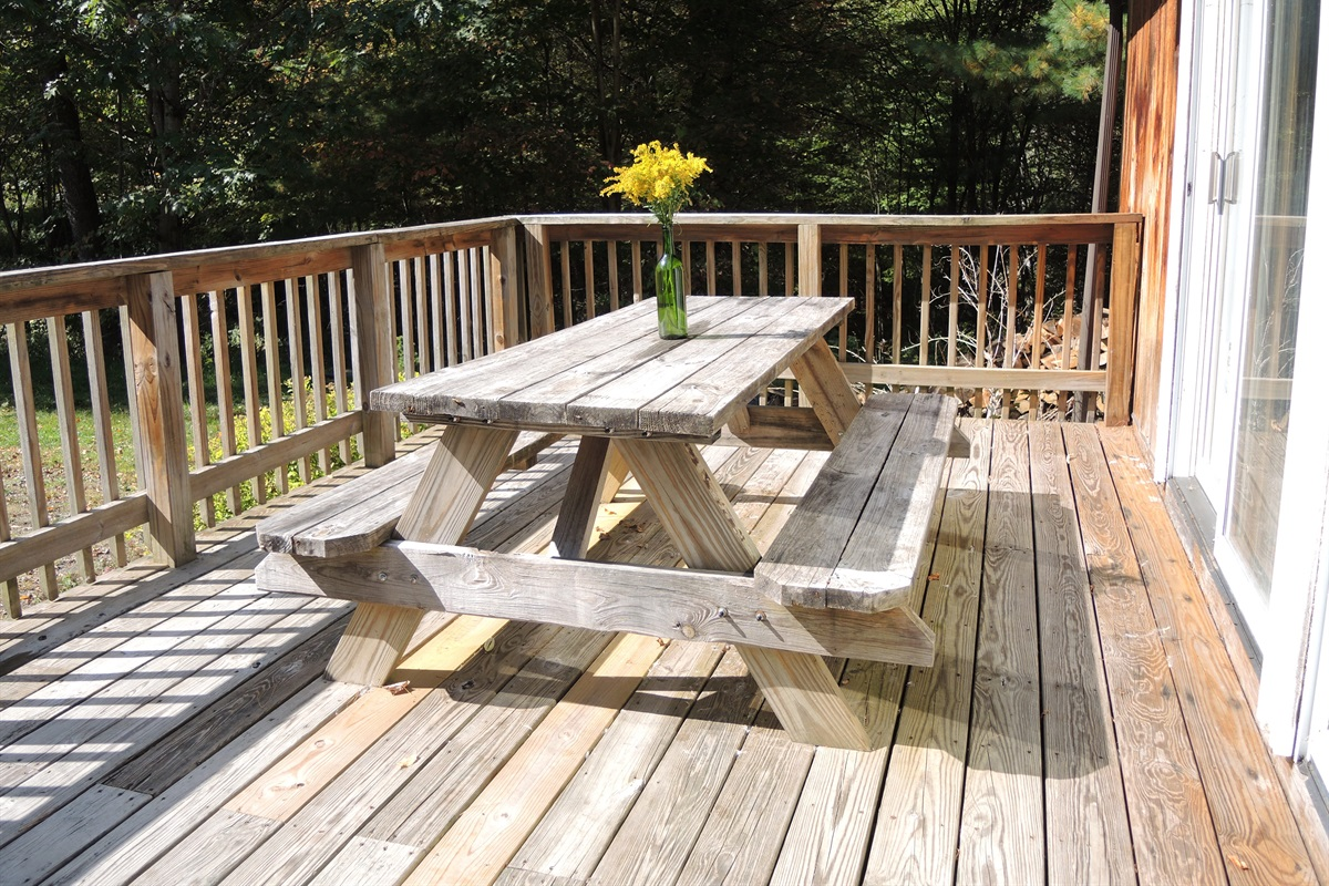 Knotty Pine - Front porch