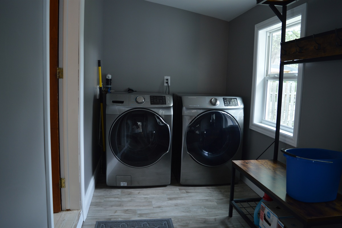 Laundry is available for use during your stay