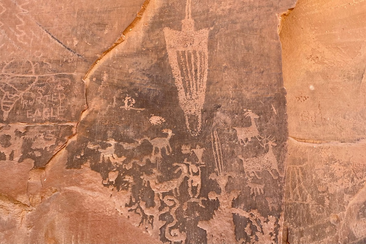 Anasazi Writings 3 Miles from home