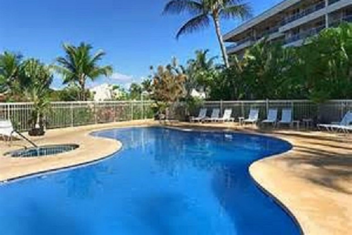 Choose from one of the 2 pools on the property