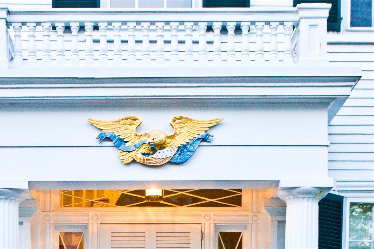The Captain Morse House Front Entrance