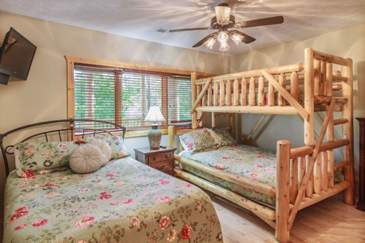 Family suite that can sleep five, with full ensuite bath.