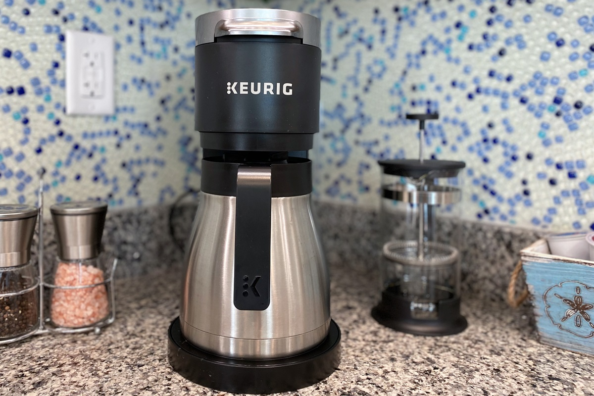 Keurig KDuo Plus and French Press