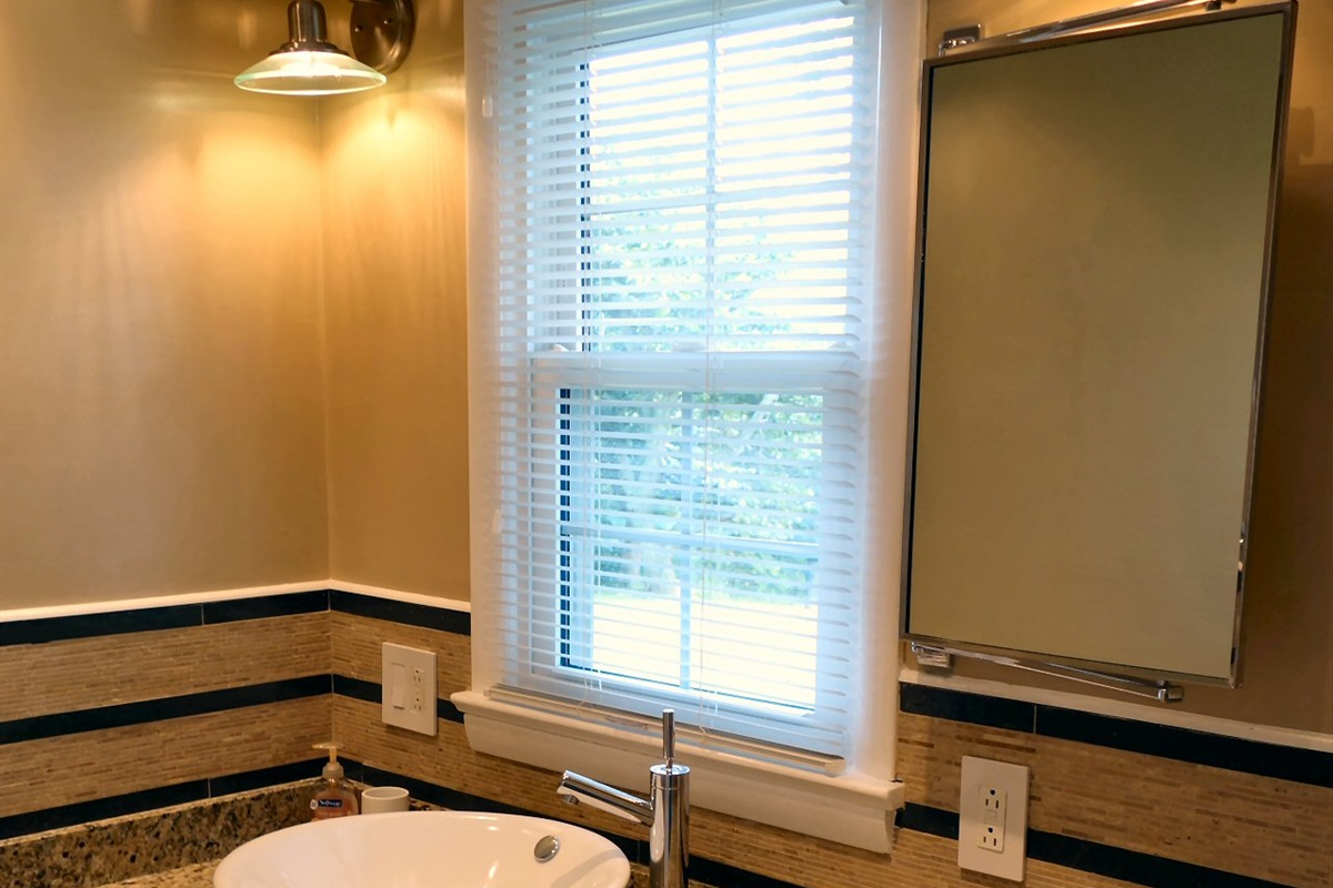Renovated upscale bathrooms
