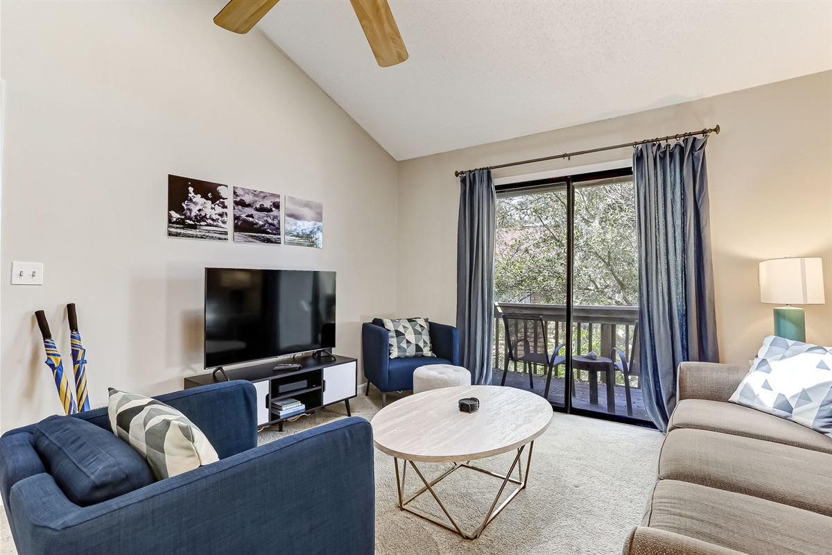 Your Private Balcony off Living Room