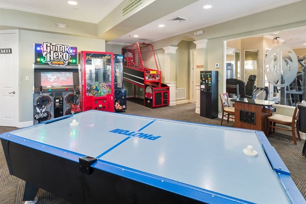 Game Room at Windsor Hills Clubhouse