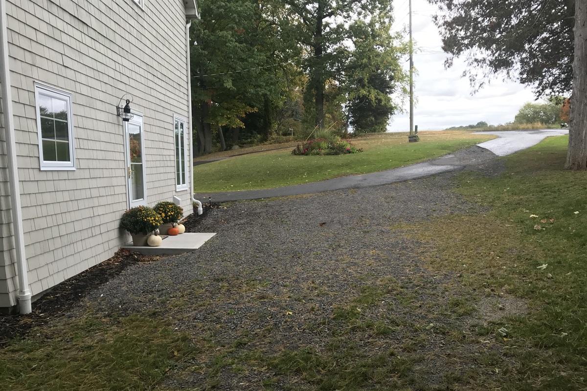 Breezy Point parking area
