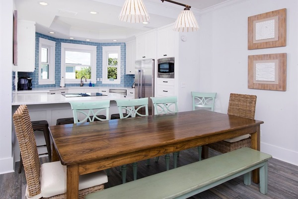 Main House 2nd Floor large dining table - 2018 renovation of Kitchen