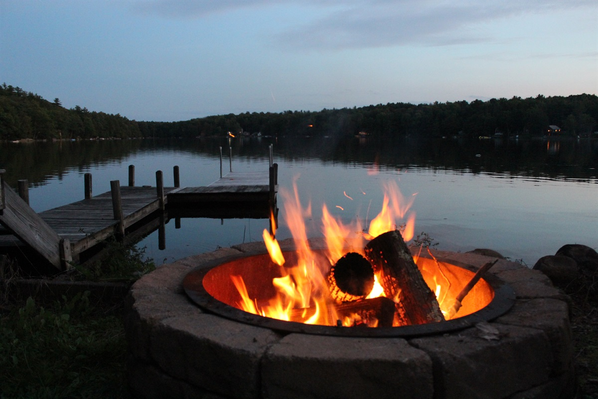 Fire Pit under the stars.