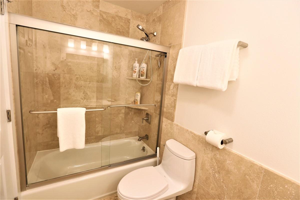 We provide shampoo, conditioner, body wash