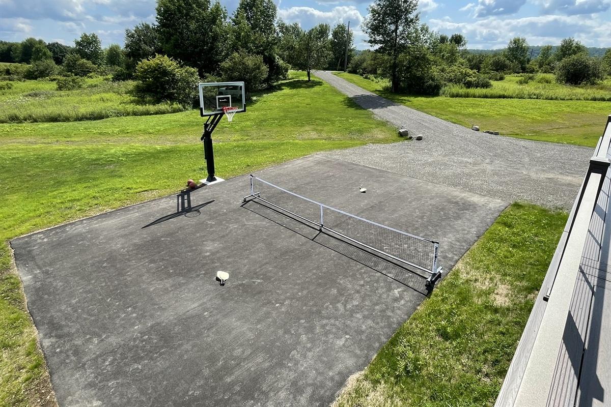 Basketball or pickleball, you choose