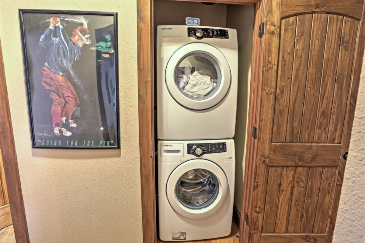 4 sets of washer/dryers