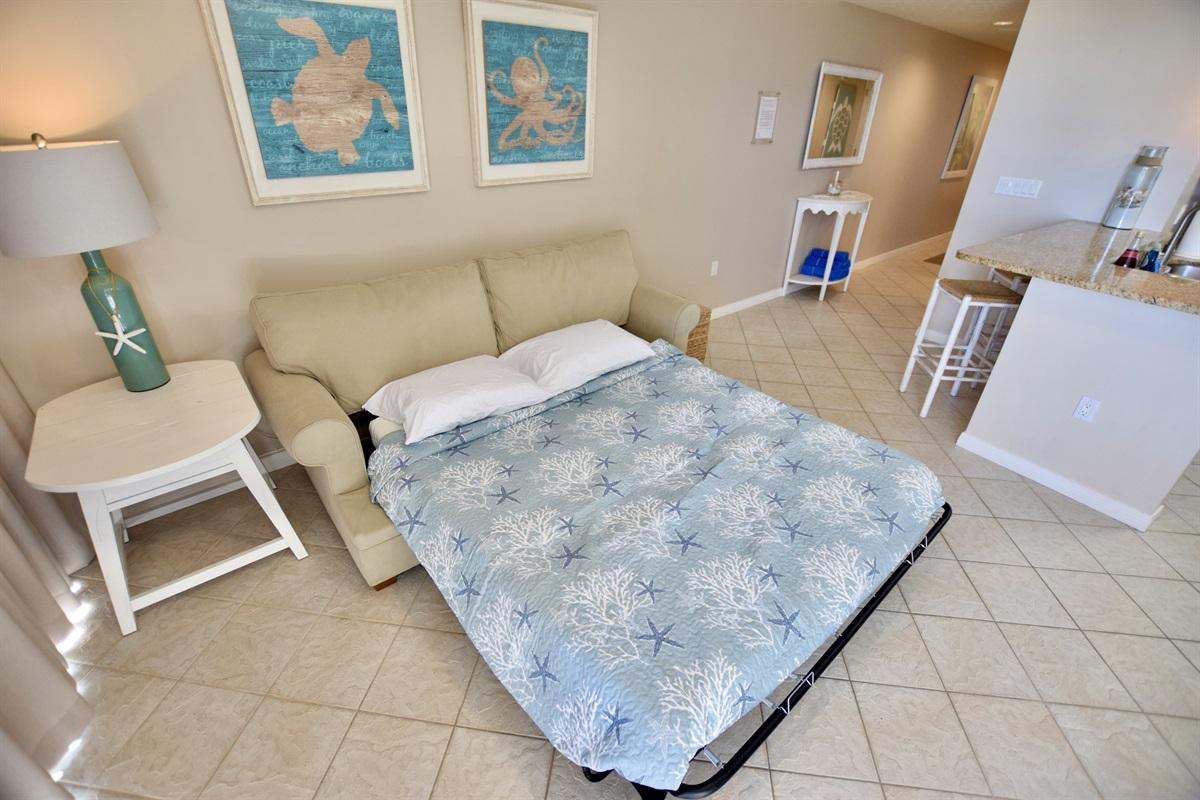 Destin West Gulfside #309 - Sleeper sofa