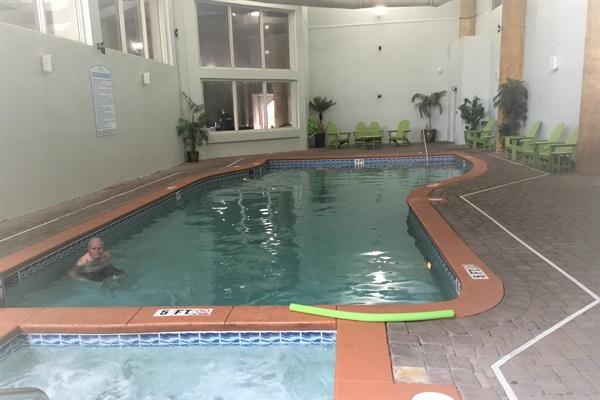 Indoor Heated Pool & Hottub