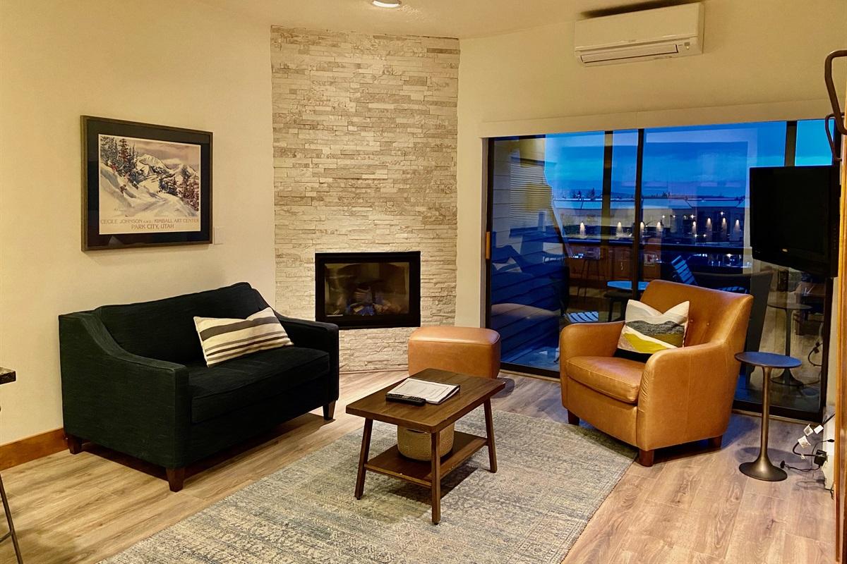 Stylish, comfortable space