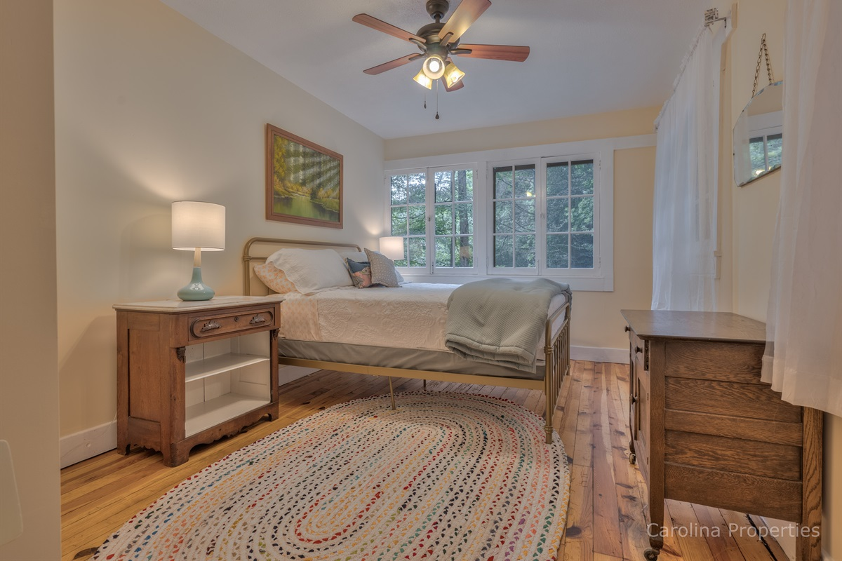 Additional view of bedroom 2 with queen size bed