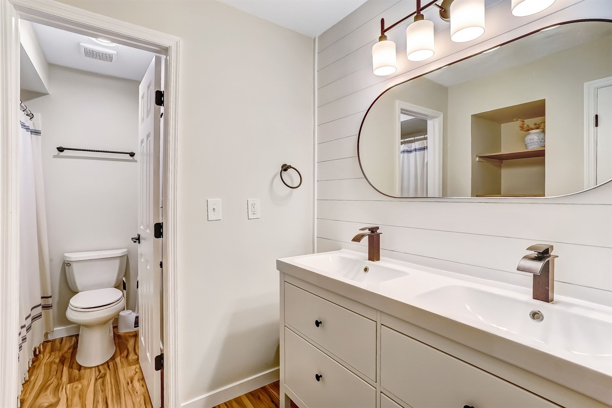 Completely Remodeled Bathroom
