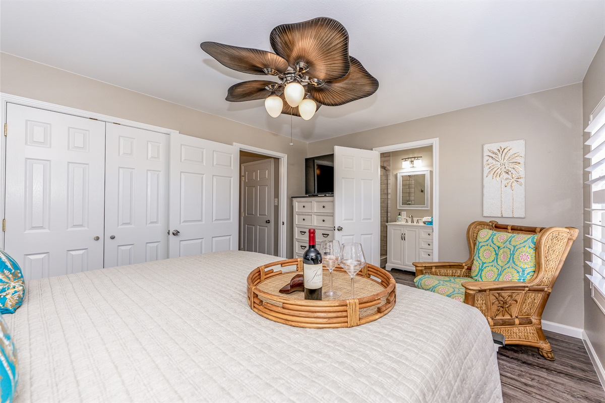 Large space with private bathroom