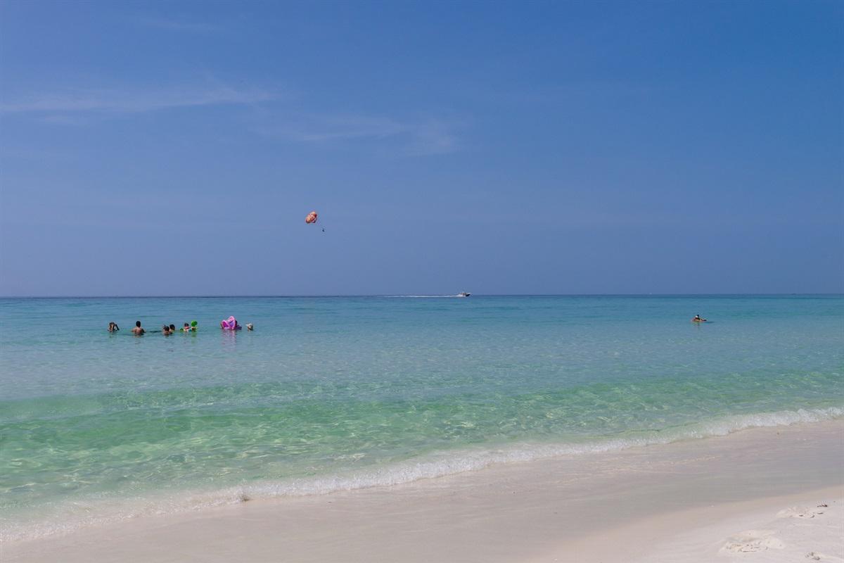 Jade East private beach access