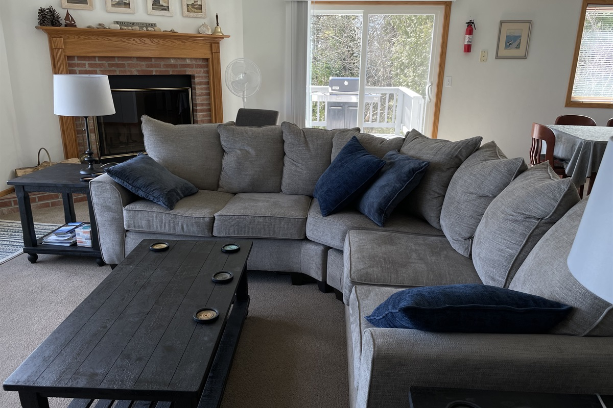 Comfortable New Sectional