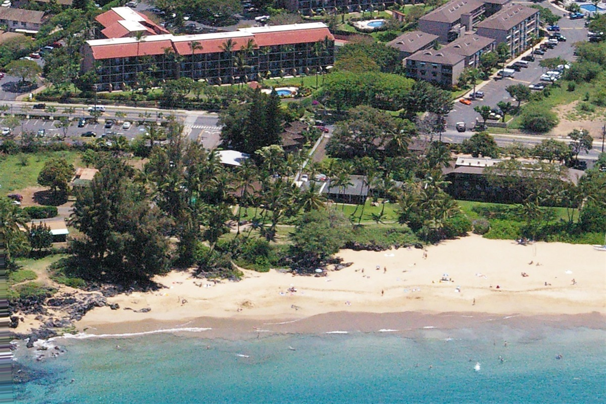 Enjoy Kamaole I Beach, right across the street -- a short stroll from your condo