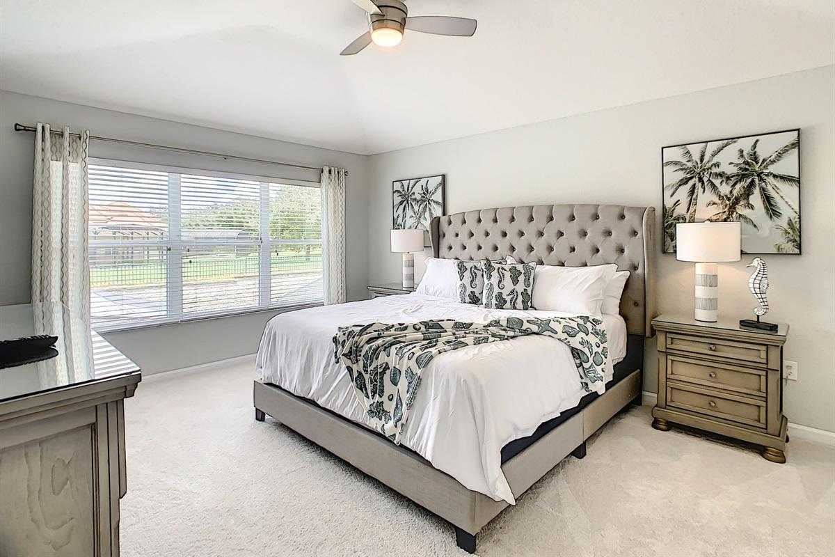 Master Suite-King Bed-2nd Floor