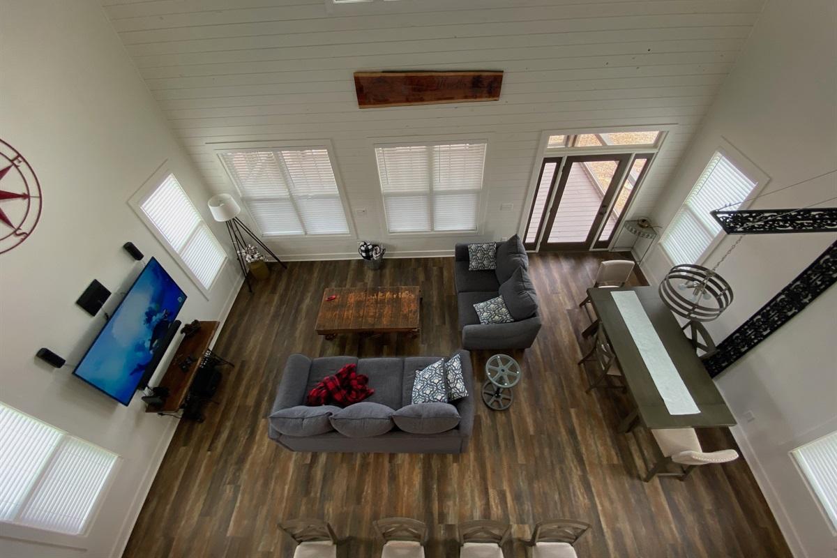 Big Open Space Indoors!