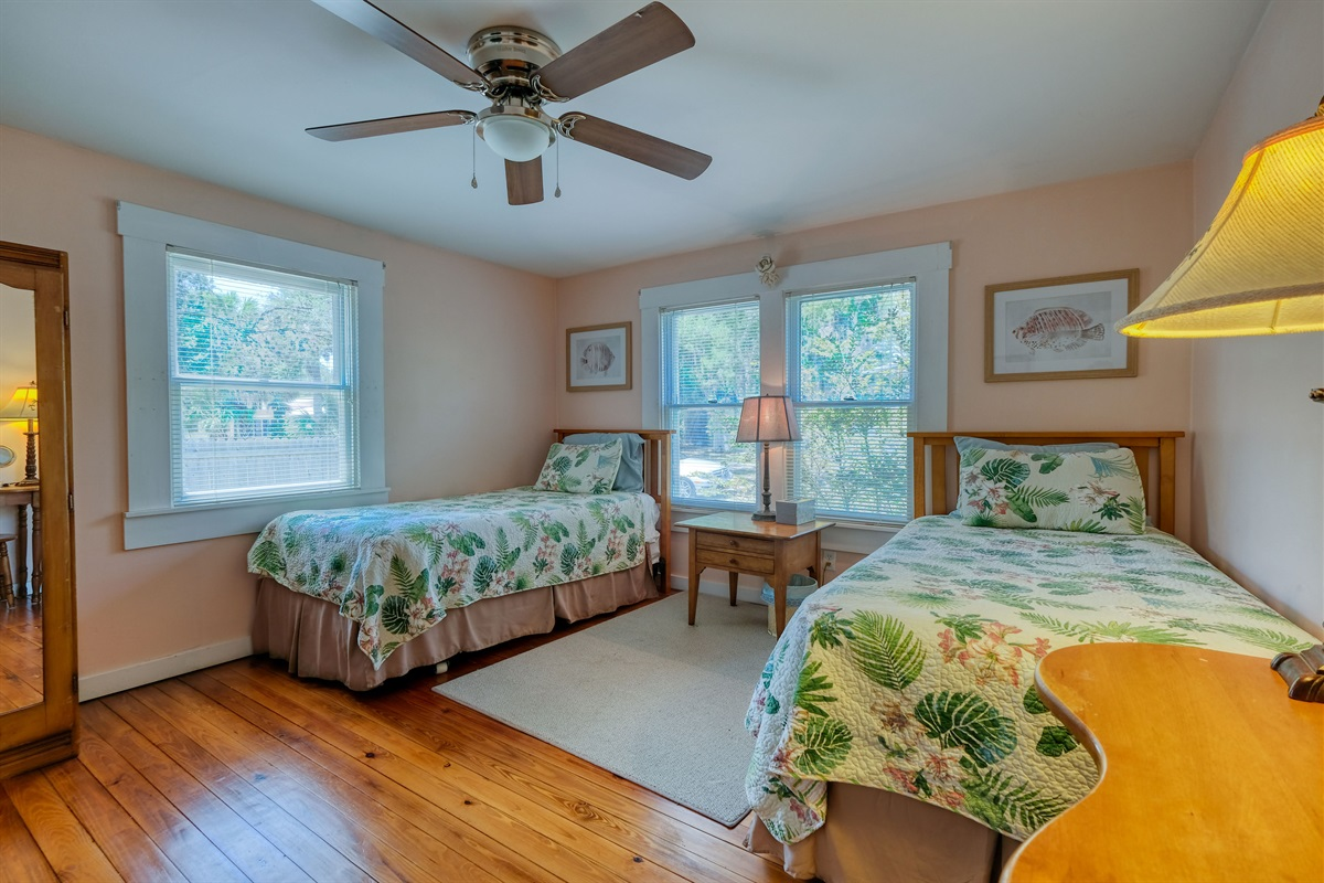 Twin Beds available in Bedroom