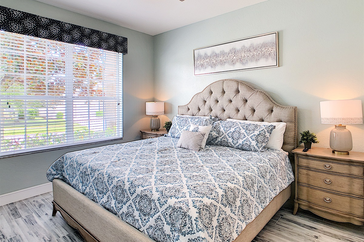 2nd Master Bedroom (King-1st Floor)