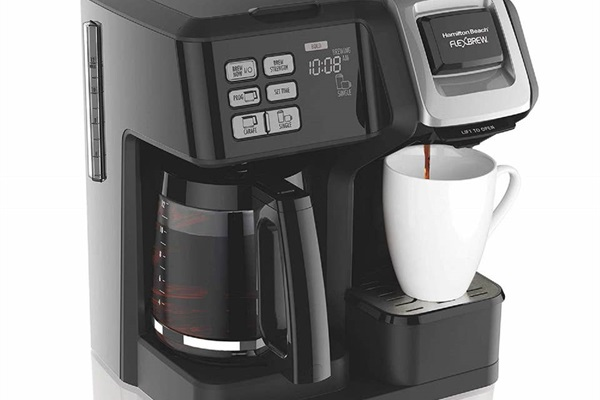 We provide a coffee machine that uses both Keurig and standard coffee.