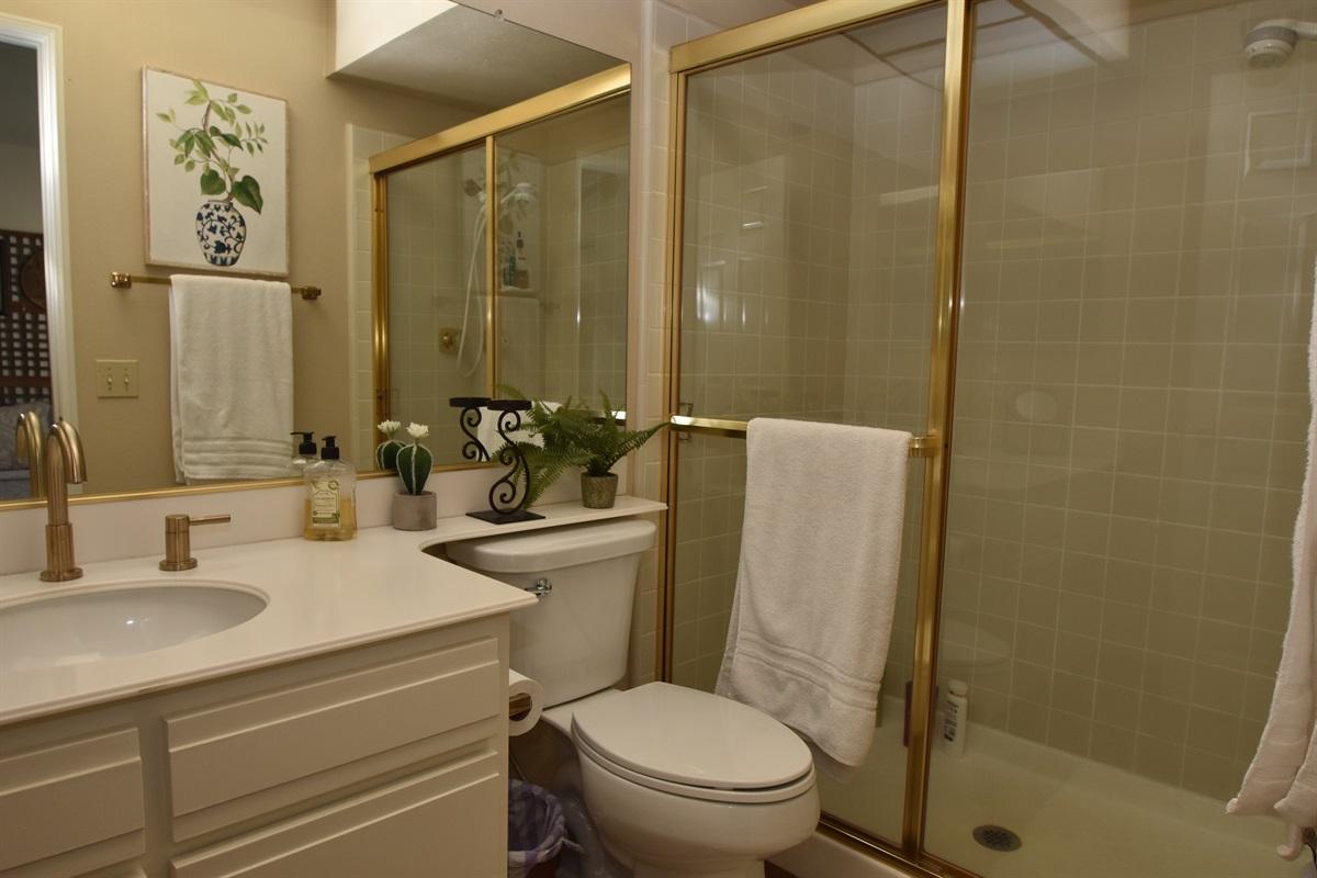 full bath ensuite 2nd bedroom