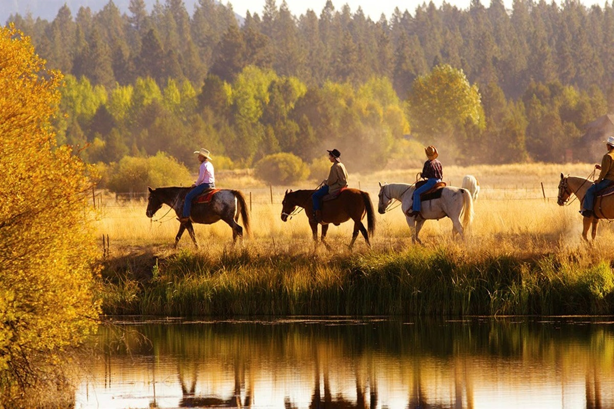 Horseback Riding- Sunriver Stables Nearby