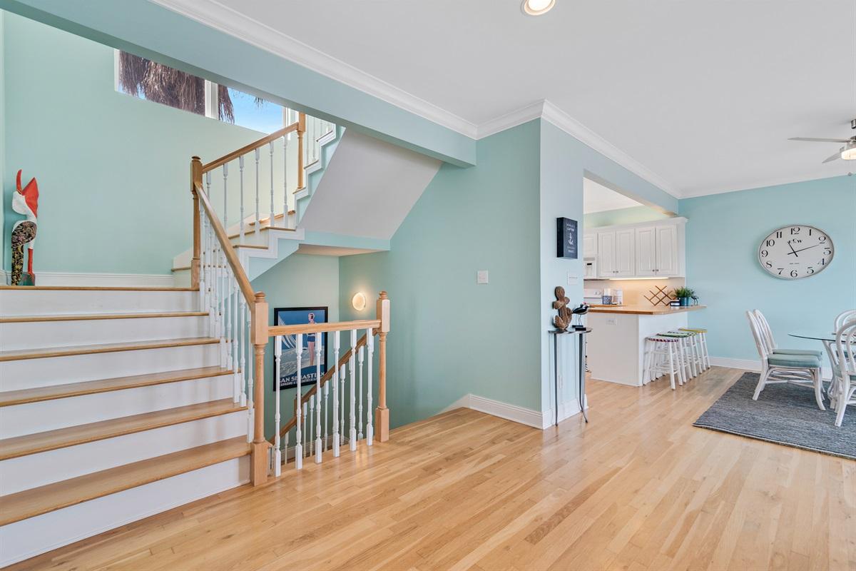 Main Floor (2nd) Living Area