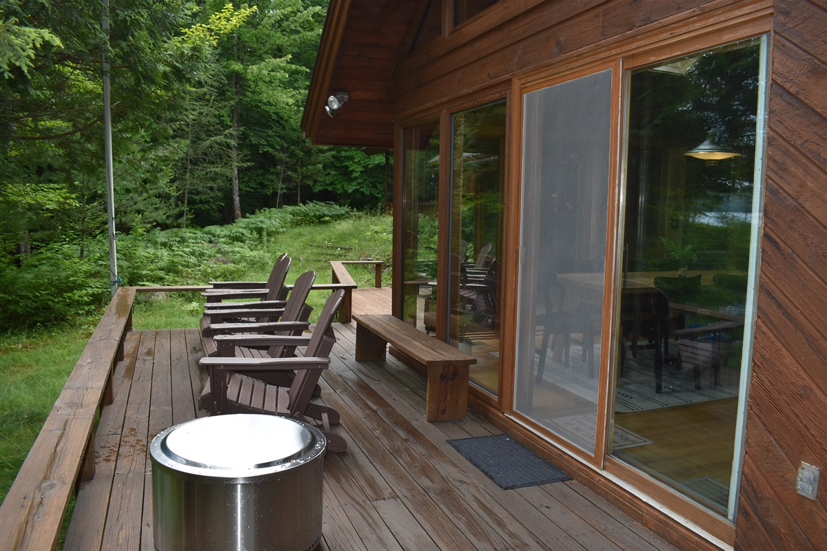 ADK Chairs And Solo Stove