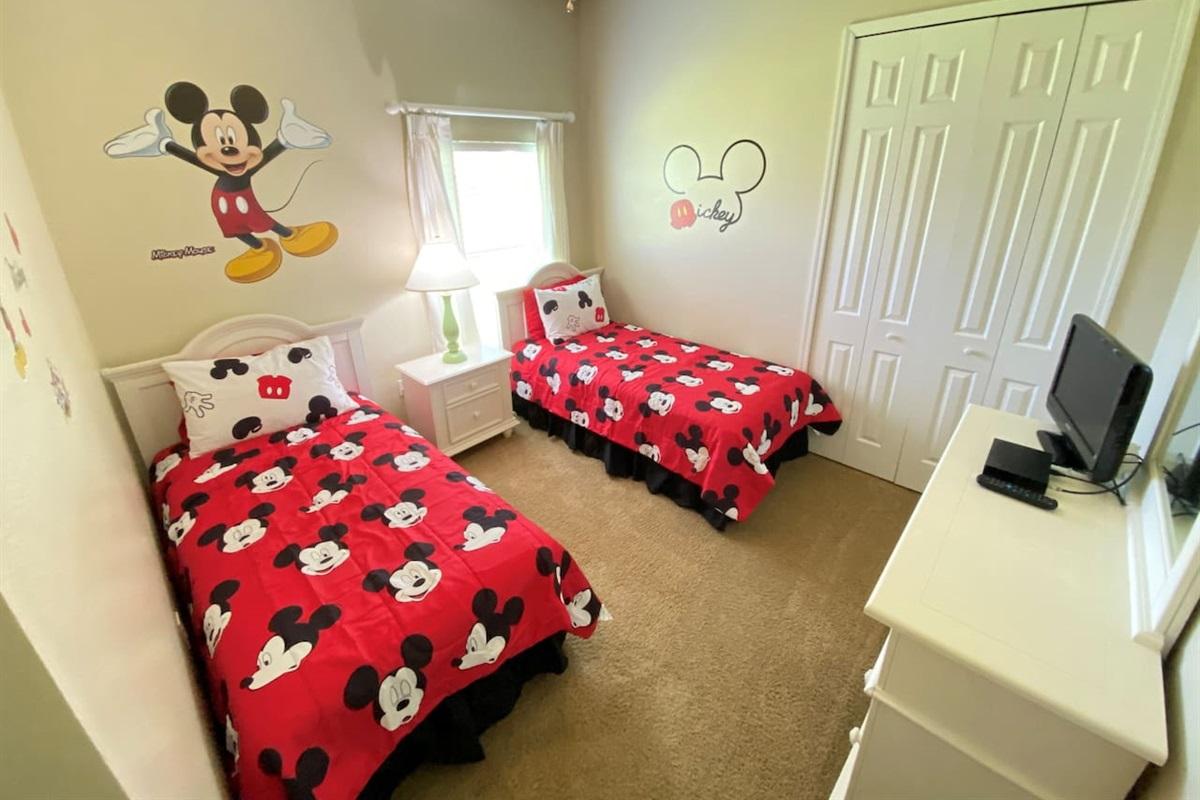 Disney Theme Bedroom