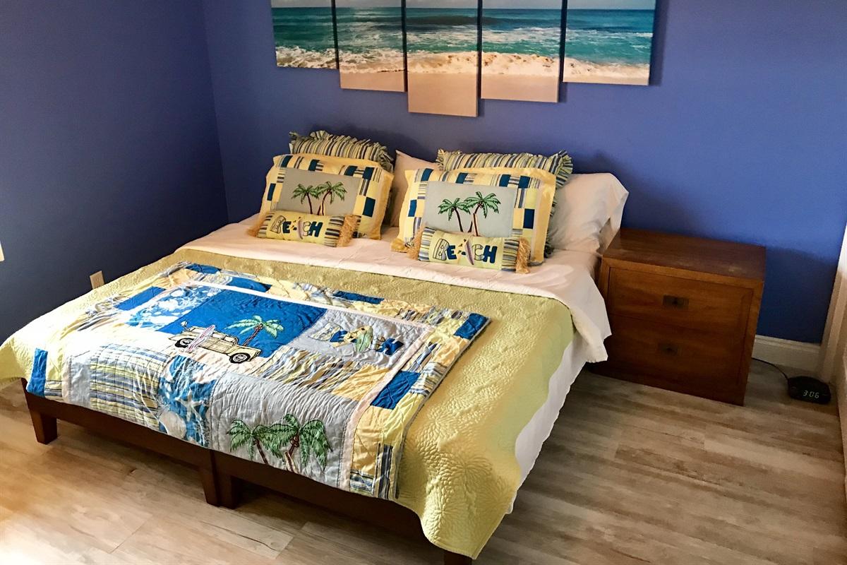 3rd Bedroom has optional King bed setup