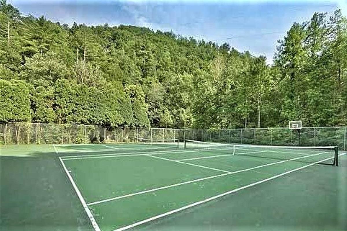 Year-round tennis + basketball