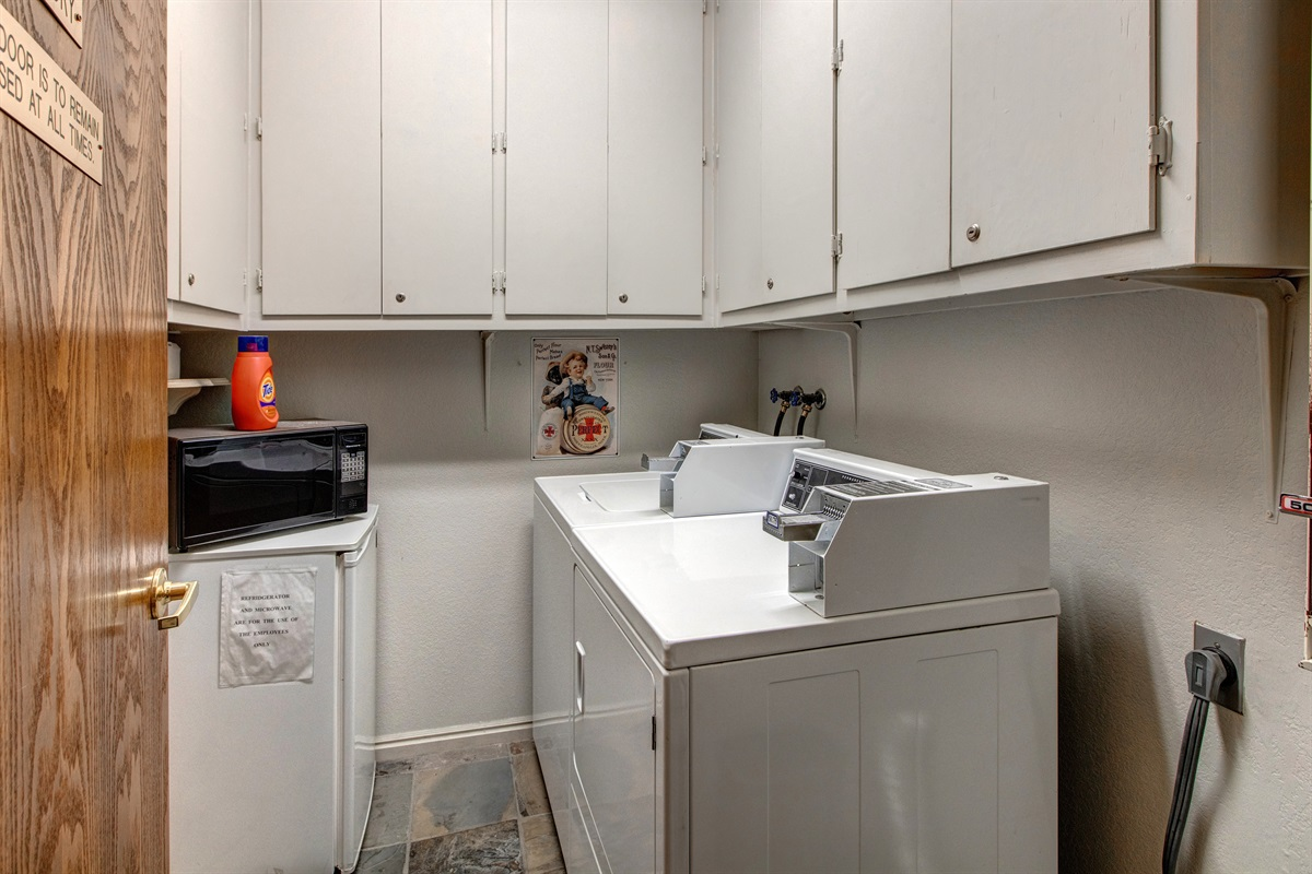 Washer/dryer - for building
