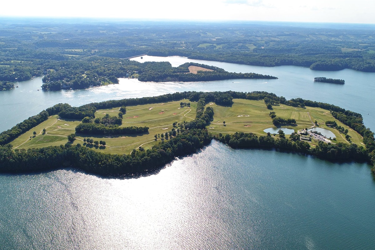 The Bear Trace Golf Course - Tims Ford Lake