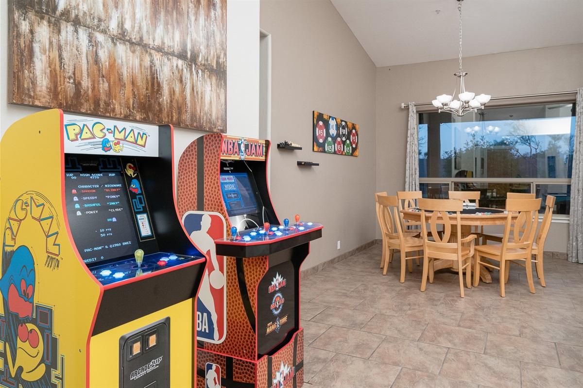 Activity Area (Pool/Chess/Checkers/Poker/Arcade)