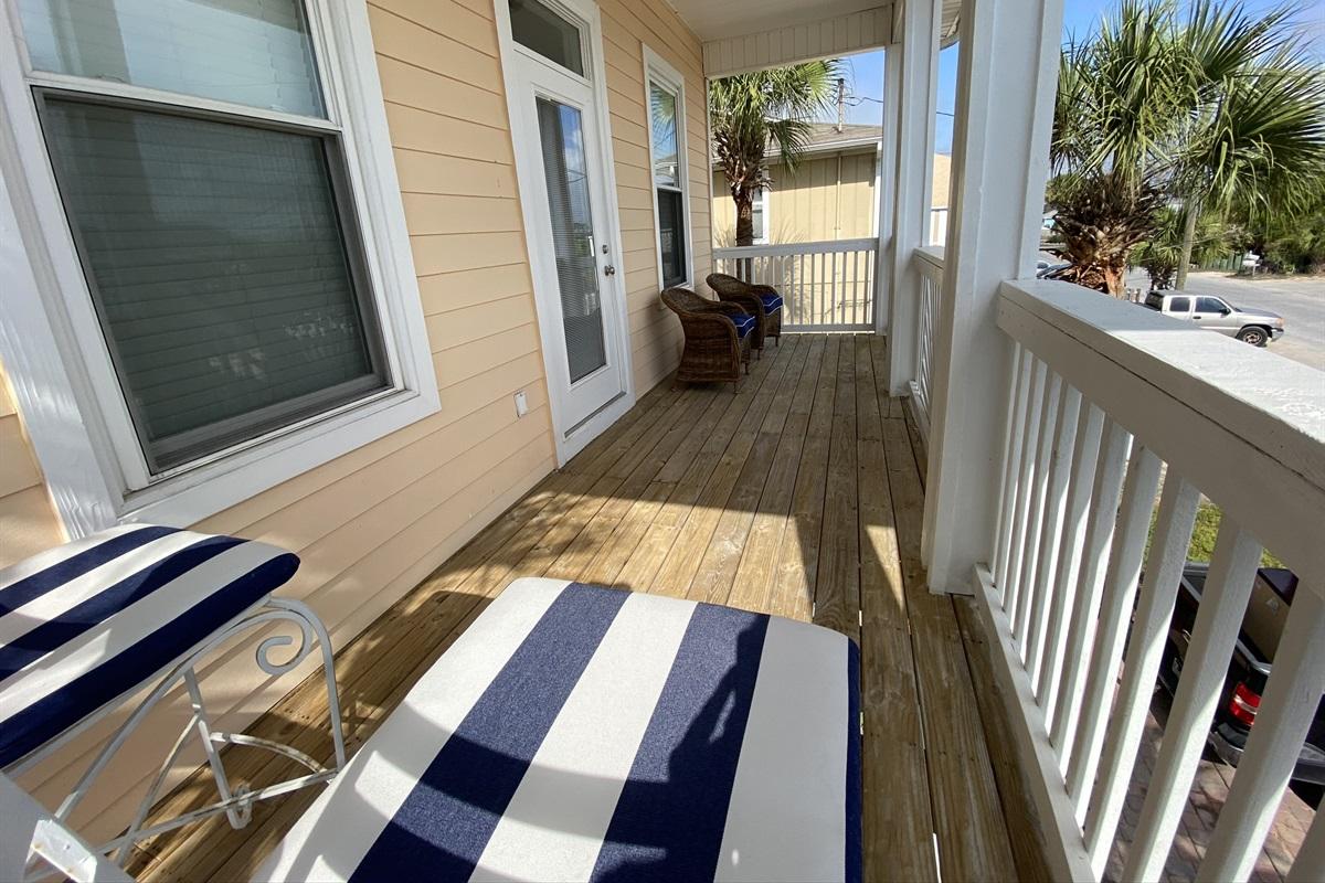 Every bedroom has a balcony
