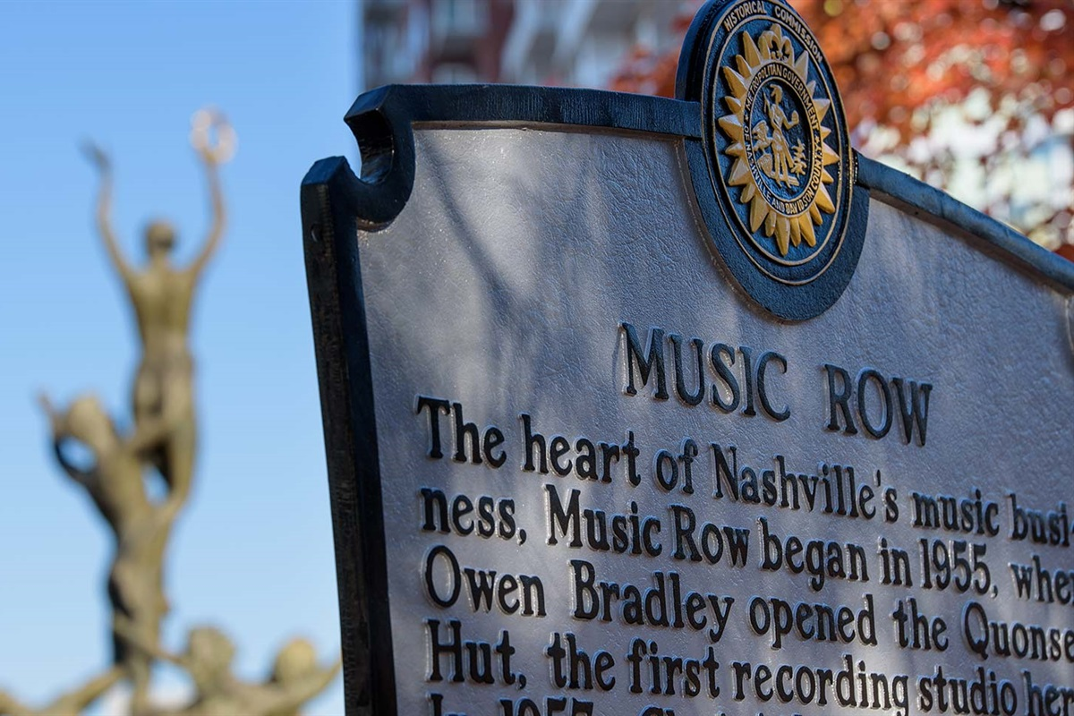Located ON Historic Music Row!