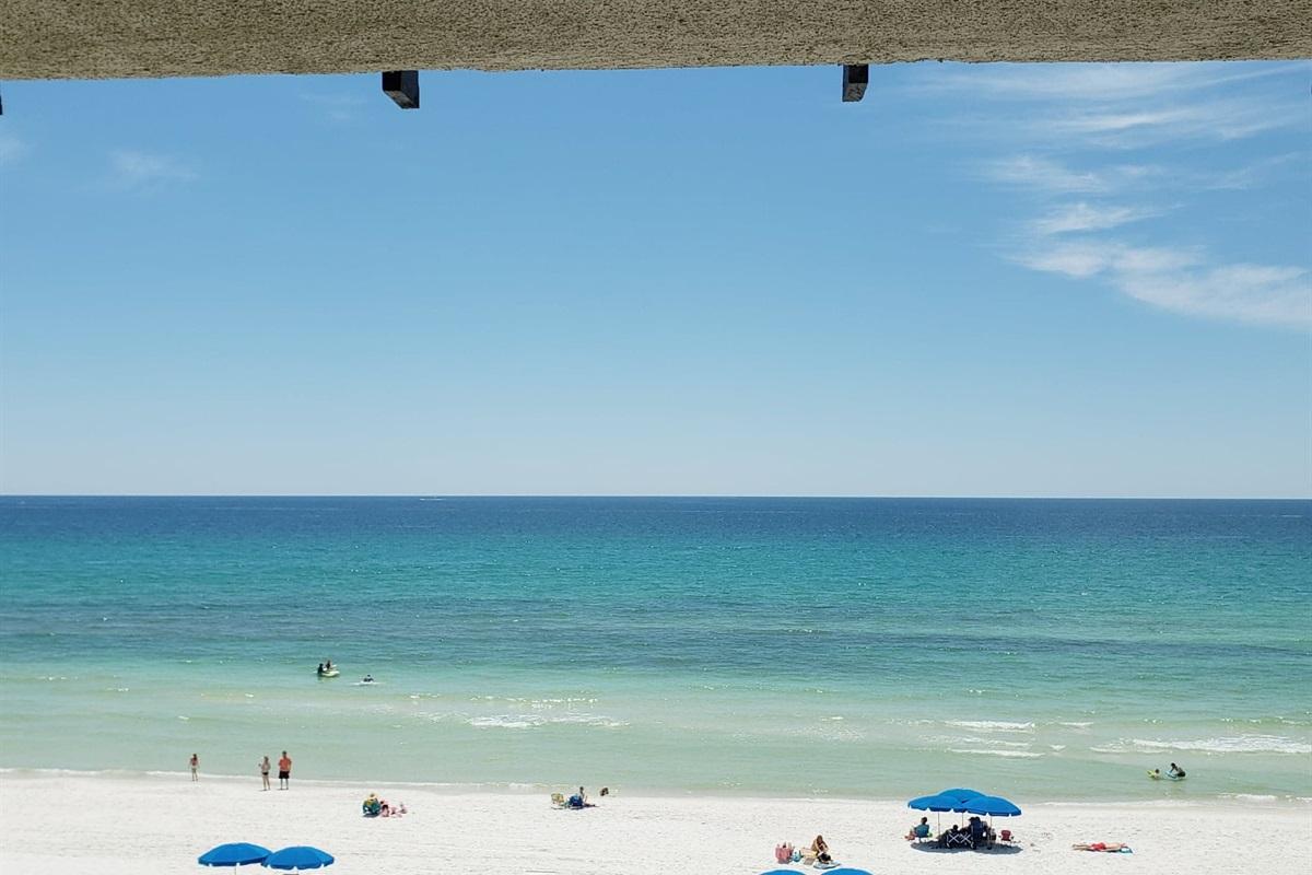 Beautiful Views of the beach & gulf