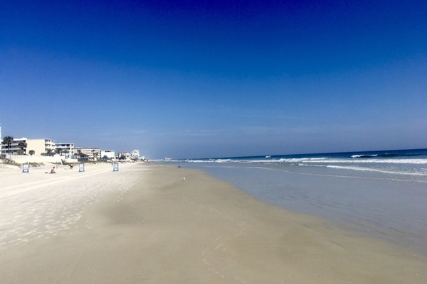 Wide beaches provide miles and miles outside enjoyment.