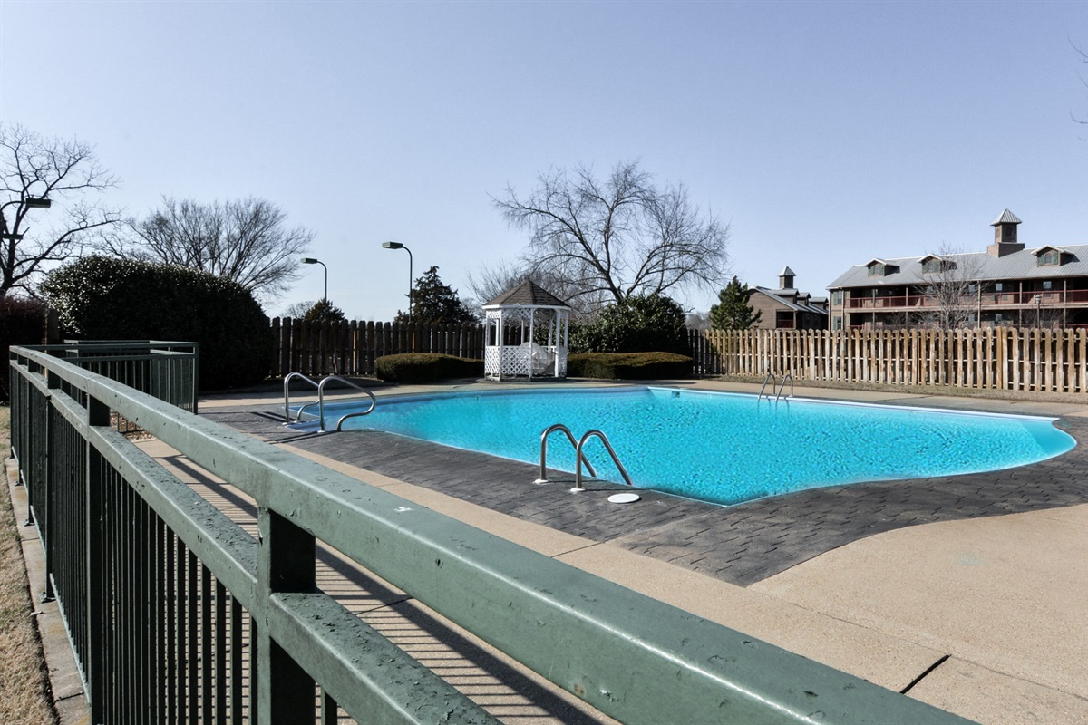 Five outdoor pools--what a great way to cool off on a hot summer day!