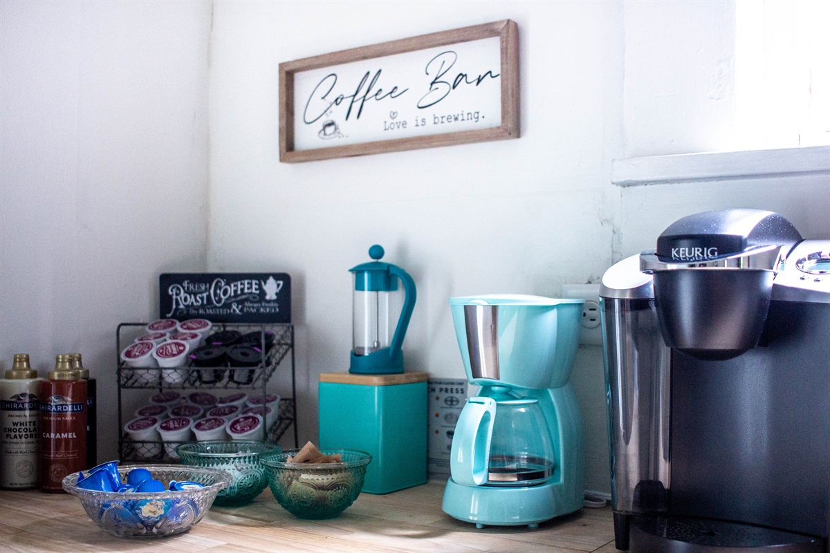 Energize at the coffee bar!