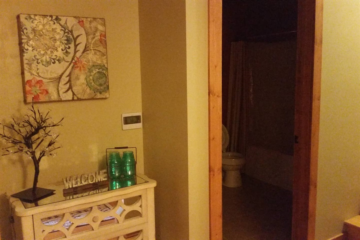 Downstairs Alcove