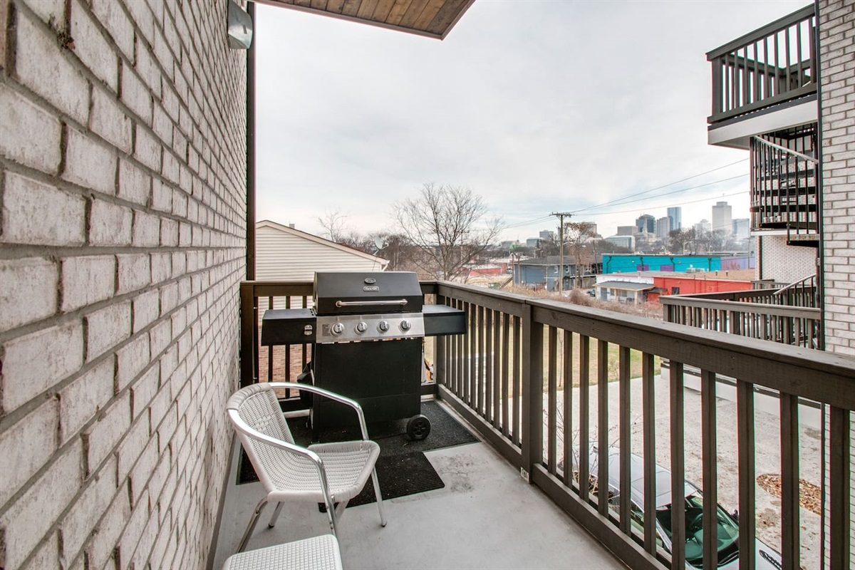Quite the view to have a cold one and grill for your group.  I'll volunteer for grill master!